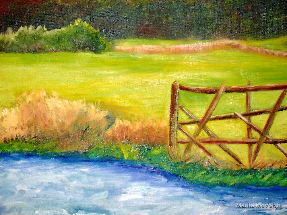 Irish Landscape by Marita McVeigh