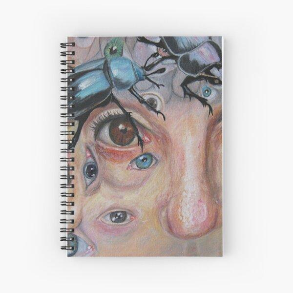 Whats Bugging Me: Crazy Brain Art Spiral Notebook