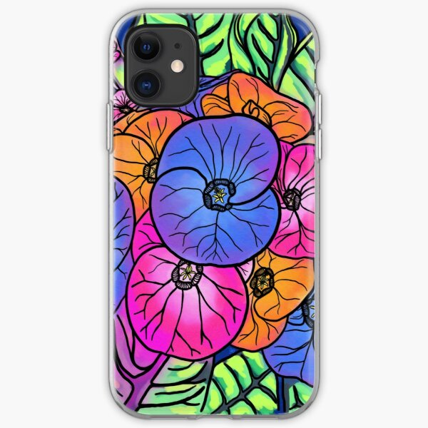 Colourful Bunch iPhone Soft Case