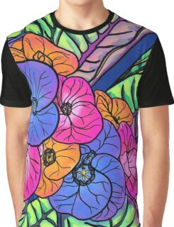 Colourful Bunch Graphic T-Shirt