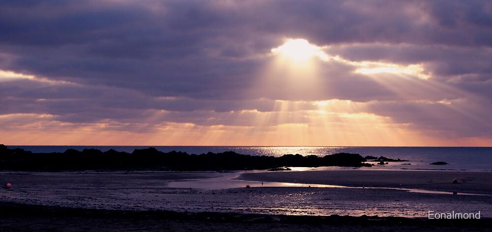 Sunset beach. by Eonalmond