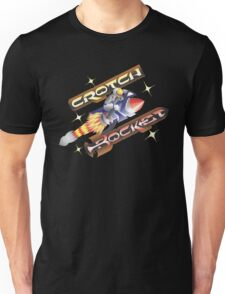 Crotch Rocket (VECTOR) Unisex T-Shirt