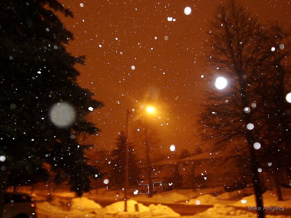 Bright Winter's Night by Mike Angiers