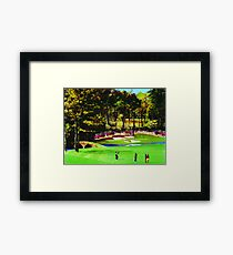 Azaleas On The 12th Framed Print