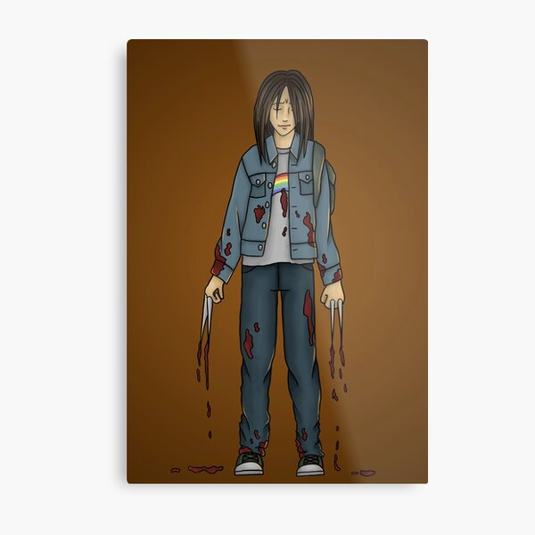 Laura Kinney - x23 Metal Print