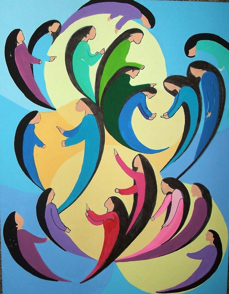 Spirits at Play by Jamie Winter-Schira