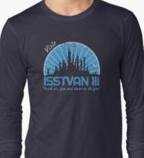 Visit (blue) Long Sleeve T-Shirt