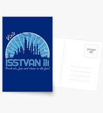 Visit (blue) Postcards