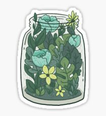 a jar Sticker