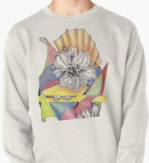 Flower Drawing Pullover