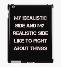 My Idealistic iPad Case/Skin