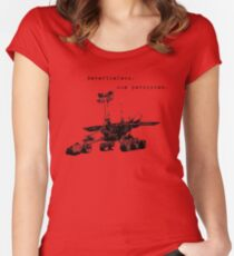 Opportunity Rover: Nevertheless, She Persisted Women's Fitted Scoop T-Shirt