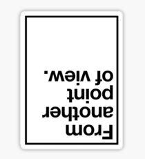Point Of View Sticker