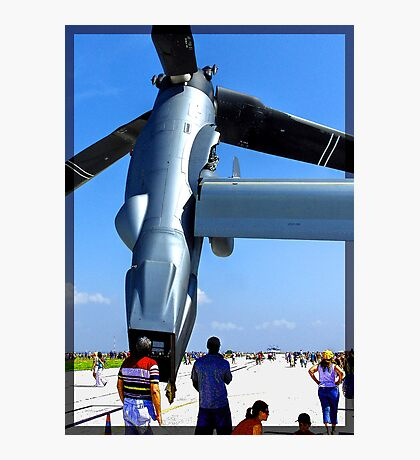 Really Big Engine Photographic Print