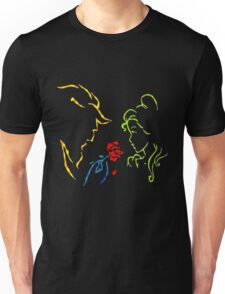 Beauty And The Beast - Simple Love Unisex T-Shirt