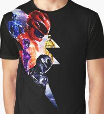 Power Rangers Version 1  Graphic T-Shirt