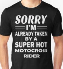 Love A Super Hot Motocross Rider T Shirt Unisex T-Shirt