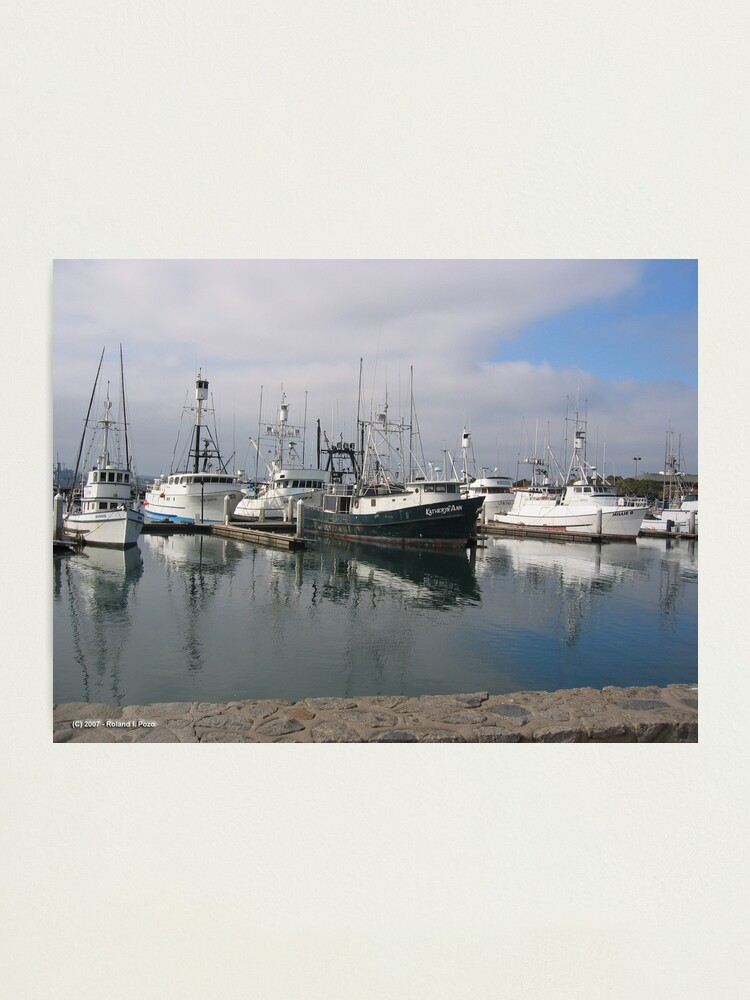 Alternate view of Trawlers Photographic Print