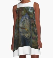 Moray eel A-Line Dress