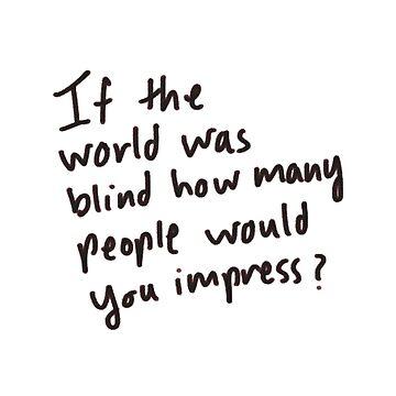 Would Your Impress by rangerputihh