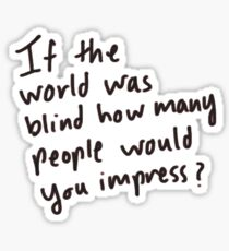 Would Your Impress Sticker