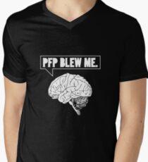 PFP Mind-Blowing Tee Mens V-Neck T-Shirt