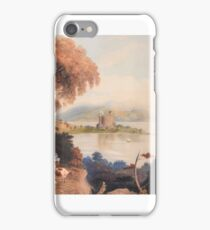 Mary Dandie (fl.) Cattle on the banks of a loch iPhone Case/Skin