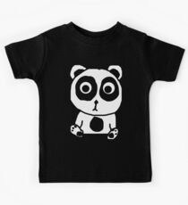 Crappy Panda Cub Kids Tee