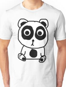 Crappy Panda Cub Unisex T-Shirt