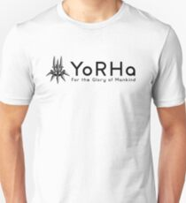 YoRHa - For Glory Of Mankind Unisex T-Shirt