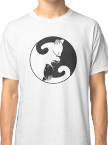 Cat Yin-Yang Classic T-Shirt
