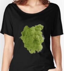 Smoke Green Women's Relaxed Fit T-Shirt