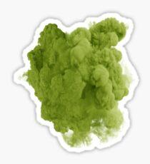 Smoke Green Sticker