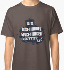 Doctor Who Catchphrases 2 Classic T-Shirt
