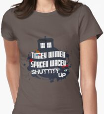 Doctor Who Catchphrases 2 Womens Fitted T-Shirt