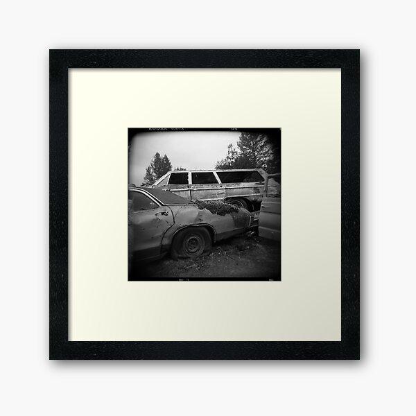 Pile Up Framed Art Print