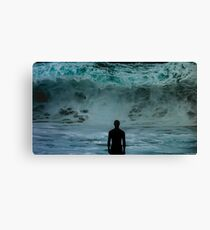Lost in the Ocean Canvas Print