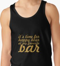 It's time for... Gym Motivational Quote Tank Top