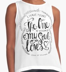 i have found the one whom my soul loves Contrast Tank