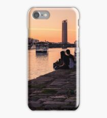 Sevillean Sunset - By the River iPhone Case/Skin