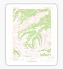 USGS TOPO Map Colorado CO Rio Grande Pyramid 451633 1964 24000 Sticker