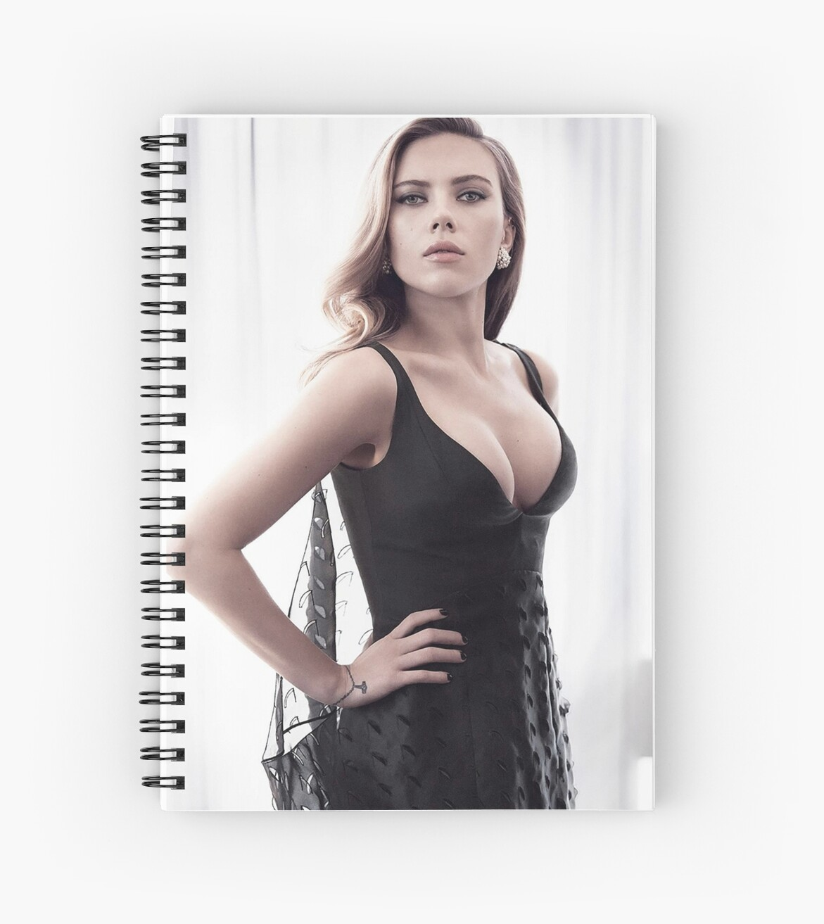 Designer Wall Stickers Quot Hot Scarlett Johansson 3 Quot Spiral Notebooks By Titod