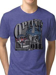 Optimus Oil. Tri-blend T-Shirt