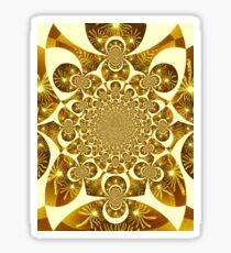 Golden Rain  Sticker