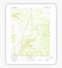 USGS TOPO Map Colorado CO Red Horse Gulch 234233 1966 24000 Sticker
