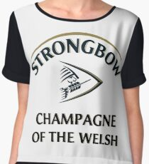 Strongbow Champagne of the Welsh Women's Chiffon Top