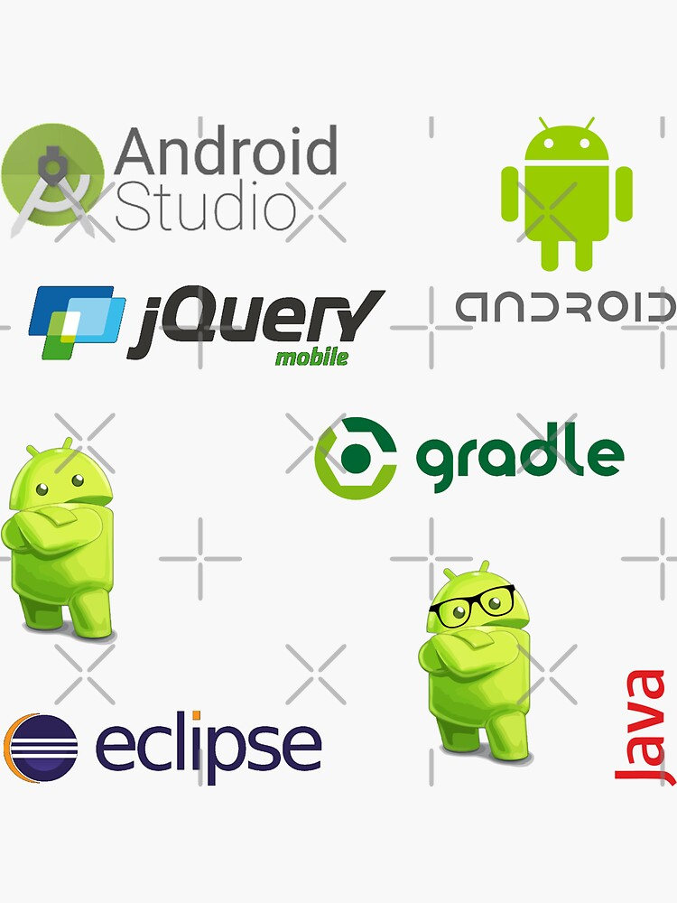 android sticker set by yourgeekside
