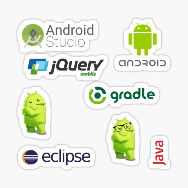 android sticker set Sticker