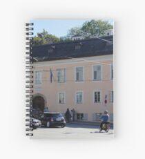 Mozart's Residence in Salzburg Spiral Notebook