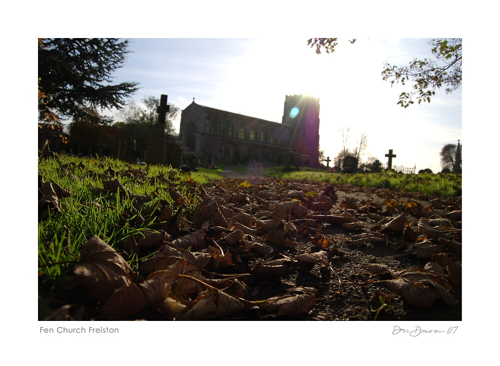 Fen Church Freiston  by Dan Donovan